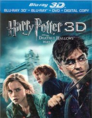 Harry Potter And The Deathly Hallows: Part 1 3D (Blu-ray 3D + Blu-ray + DVD + Digital Copy)