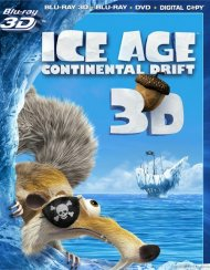 Ice Age: Continental Drift 3D (Blu-ray 3D + Blu-ray + DVD + Digital Copy)