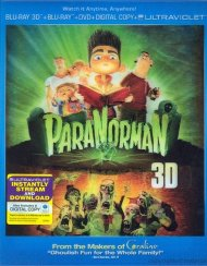 ParaNorman 3D (Blu-ray 3D + Blu-ray + DVD + Digital Copy + UltraViolet)