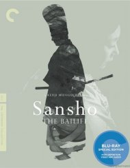 Sansho The Bailiff: The Criterion Collection