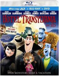 Hotel Transylvania 3D (Blu-ray 3D + Blu-ray + DVD + UltraViolet)