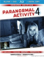 Paranormal Activity 4 (Blu-ray + DVD + Digital Copy + UltraViolet)