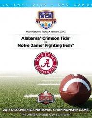2013 Discover BCS National Championship (Blu-ray + DVD Combo)