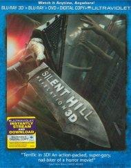 Silent Hill: Revelation 3D (Blu-ray 3D + Blu-ray + DVD + Digital Copy + UltraViolet)