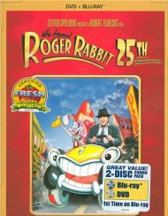 Who Framed Roger Rabbit: 25th Anniversary Edition (DVD + Blu-ray Combo)