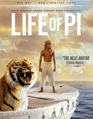 Life Of Pi (Blu-ray + DVD + Digital Copy + UltraViolet)