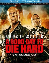 Good Day To Die Hard, A: Extended Cut (Blu-ray + DVD + Digital Copy + UltraViolet)
