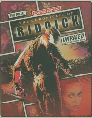 Chronicles Of Riddick, The: Unrated Directors Cut (Steelbook + Blu-ray + DVD + Digital Copy + UltraViolet)
