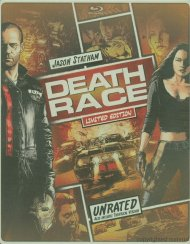 Death Race: Unrated (Steelbook + Blu-ray + DVD + Digital Copy + UltraViolet)