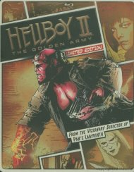 Hellboy II: The Golden Army (Steelbook + Blu-ray + DVD + Digital Copy + UltraViolet)