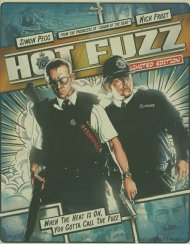 Hot Fuzz (Steelbook + Blu-ray + DVD + Digital Copy + UltraViolet)