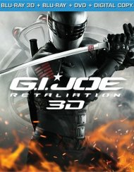 G.I. Joe: Retaliation 3D (Blu-ray 3D + Blu-ray + DVD + Digital Copy)