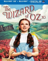Wizard Of Oz 3D, The: 75th Anniversary Edition (Blu-ray 3D + Blu-ray + UltraViolet)