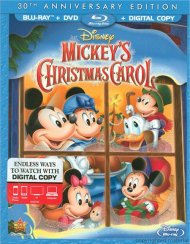 Mickeys Christmas Carol: 30th Anniversary Edition (Blu-ray + DVD + Digital Copy)