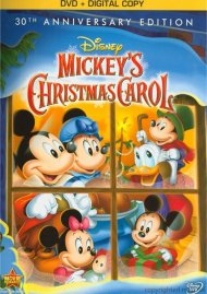Mickeys Christmas Carol: 30th Anniversary Edition (DVD + Digital Copy)