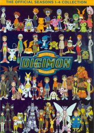 Digimon Collection: Seasons 1 - 4