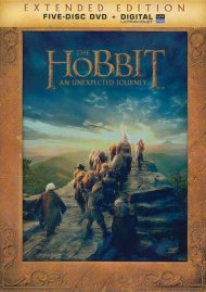 Hobbit, The: An Unexpected Journey - Extended Edition (DVD + UltraViolet)