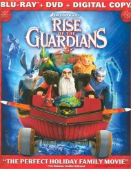 Rise Of The Guardians: Holiday Edition (Blu-ray + DVD + Digital Copy + UltraViolet)