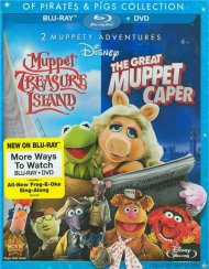 Great Muppet Caper, The / Muppet Treasure Island: Of Pirates & Pigs - 2 Movie Collection (Blu-ray + DVD Combo)