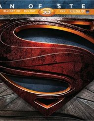 Man Of Steel 3D: Limited Collectors Edition (Blu-ray 3D + Blu-ray + DVD + Ultraviolet)