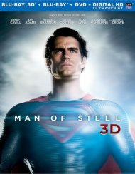 Man Of Steel 3D (Blu-ray 3D + Blu-ray + DVD + Ultraviolet)