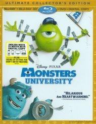 Monsters University 3D (Blu-ray 3D + Blu-ray + DVD + Digital Copy)