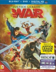 Justice League: War (Blu-ray + DVD + UltraViolet)