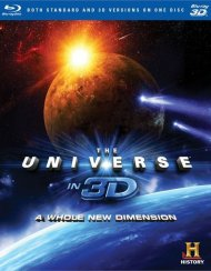 Universe In 3D, The: A Whole New Dimension (Blu-ray 3D + Blu-ray)