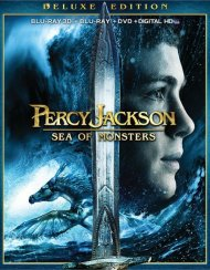 Percy Jackson: Sea Of Monsters 3D (Blu-ray 3D + Blu-ray + DVD + Ultraviolet)