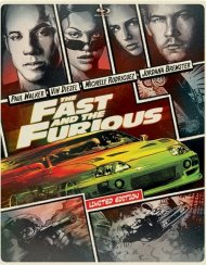 Fast And The Furious, The (Steelbook + Blu-ray + DVD + UltraViolet)