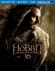 Hobbit, The: The Desolation Of Smaug 3D (3D Blu-ray + Blu-ray + DVD + UltraViolet)