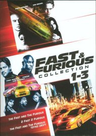 Fast & Furious: 3 Movie Collection
