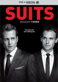 Suits: Season Three (DVD + UltraViolet)