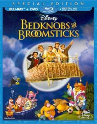 Bedknobs And Broomsticks (Blu-ray + DVD + Digital HD)