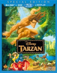 Tarzan (Blu-ray + DVD + Digital HD)