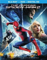 Amazing Spider-Man 2, The (Blu-ray + DVD + UltraViolet)