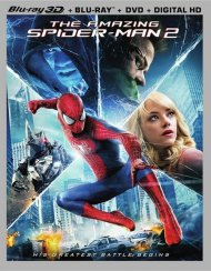 Amazing Spider-Man 2, The (Blu-ray 3D + Blu-ray + DVD + UltraViolet)