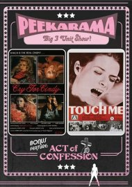 Peekarama: Cry For Cindy / Touch Me / Act Of Confession (Triple Feature)