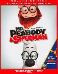 Mr. Peabody & Sherman (Blu-ray 3D + Blu-ray + DVD + UltraViolet)