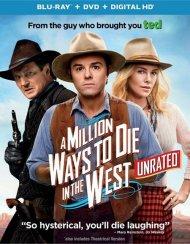 Million Ways To Die In The West (Blu-ray + DVD + UltraViolet)