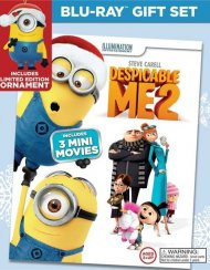 Despicable Me 2 - Limited Edition Holiday Blu-ray Gift Set