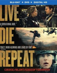 Live Die Repeat: Edge Of Tomorrow (Blu-ray + DVD + UltraViolet)