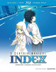 Certain Magical Index, A: Complete Season 1 (Blu-ray + DVD)