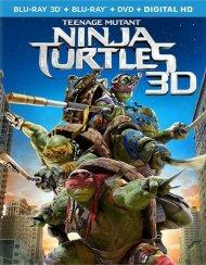 Teenage Mutant Ninja Turtles (Blu-ray 3D + Blu-ray + DVD + UltraViolet)