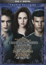 Twilight Saga Extended Edition Triple Feature, The (DVD + UltraViolet)