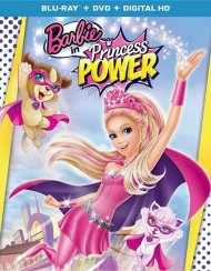 Barbie In Princess Power (Blu-ray + DVD + UltraViolet With Super Sparkle Mask)
