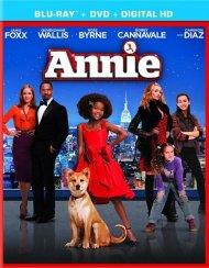 Annie (2014) (Blu-ray + DVD + UltraViolet)
