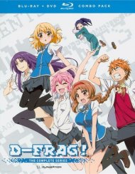 D-Frag!: Complete Series Blu-ray + DVD)