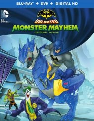 Batman Unlimited: Monster Mayhem (Blu-ray + DVD + UltraViolet)