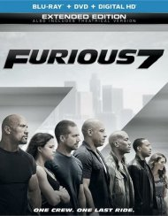 Furious 7 (Blu-ray + DVD + UltraViolet)